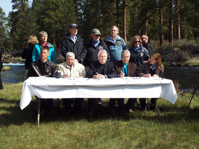 Klamath Signing