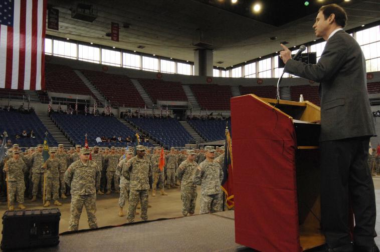 ONG Deployment Ceremonies