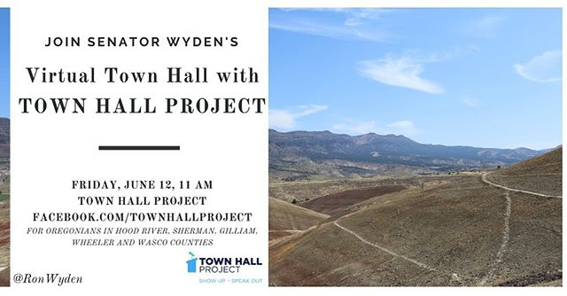 If you live in Hood River, Gilliam, Sherman, Wasco, or Wheeler county, please join us!